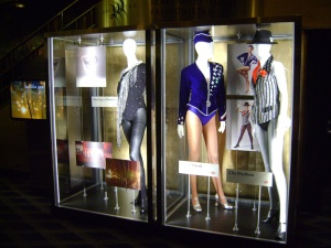 Rockettes outfits on display. C. Nelson, 2013.