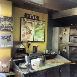 Even the  working pizza station is a thing of beauty and looks preserved from a museum. Craig Nelson, 2014.