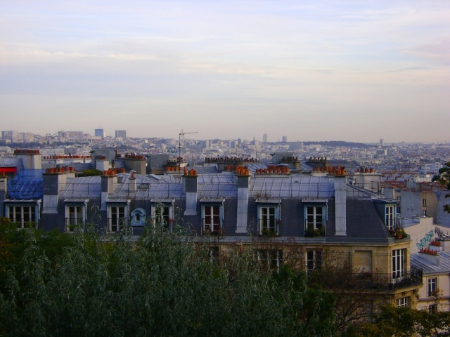 The chimneys of Paris. Photo: Craig Nelson
