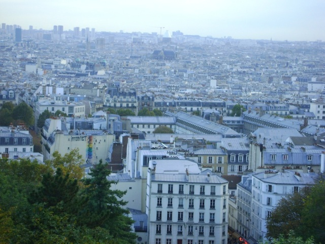 The city sprawling out from Sacre Coeur. Photo: Craig Nelson