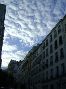 Clouds over Paris
