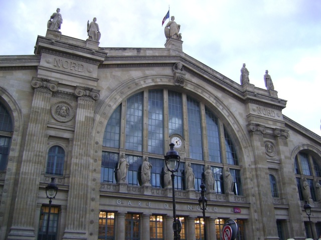 The beautiful Gare Du Nord. Photo: Craig Nelson
