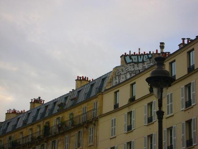 "True ""love"" in Paris. Photo: Craig Nelson"