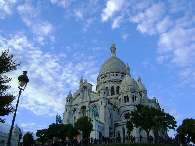 Looking up at Sacre Couer. Photo: Craig Nelson